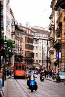 ミラノの街並
