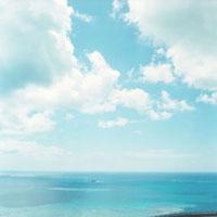 海と空 20021004886| 写真素材・ストックフォト・画像・イラスト素材|アマナイメージズ