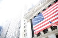 ウオール街のニューヨーク証券取引所