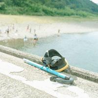 水中メガネとシュノーケル 20021005690| 写真素材・ストックフォト・画像・イラスト素材|アマナイメージズ