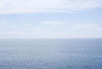城ヶ崎海岸より望む水平線