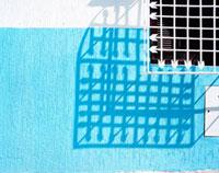 シャウエンの青い壁 20021006004| 写真素材・ストックフォト・画像・イラスト素材|アマナイメージズ