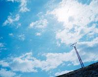 モロッコの青空 20021006007| 写真素材・ストックフォト・画像・イラスト素材|アマナイメージズ