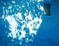 シャウエンの青い壁 20021006010| 写真素材・ストックフォト・画像・イラスト素材|アマナイメージズ