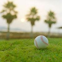 芝生の上の野球ボール 20021006066| 写真素材・ストックフォト・画像・イラスト素材|アマナイメージズ