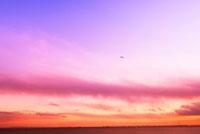 夕焼けの空 20021006083| 写真素材・ストックフォト・画像・イラスト素材|アマナイメージズ
