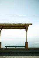 海の見える下灘駅