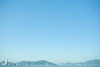 フェリーより望む高松港