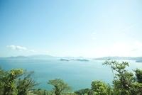 女木島から望む瀬戸内海