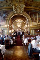 Le Train Bleu restaurant