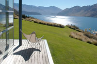 View of Lake Wanaka from Whare Kea Lodge