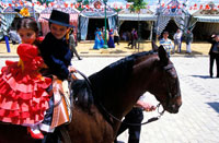 Seville April Festival  Feria 20023001577| 写真素材・ストックフォト・画像・イラスト素材|アマナイメージズ