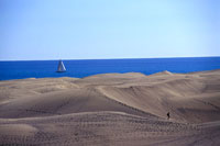 Sand dunes at Maspalomas beach