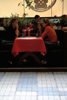 People sitting in Restaurant