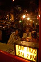 People drinking in Joburg bar