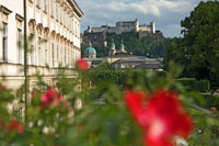 Mirabell Gardens and palace