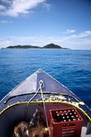 Approaching Cousine Island 20023002432  写真素材・ストックフォト・画像・イラスト素材 アマナイメージズ