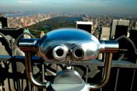 Central Park from Rockefeller Centre