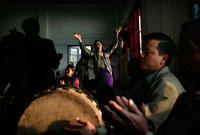 Mizo Baptists in a trance