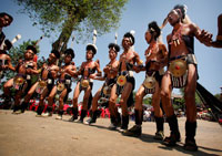 Chang Naga tribe at Moatsu festival
