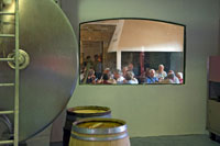 Port tasting at a Quinta