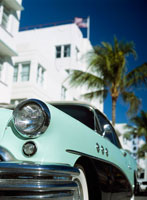 Old Buick on Ocean Drive