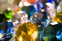 Gems at Russian market