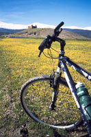 Cycling to La Calahorra