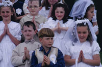 First communion,Killorglin