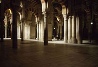Interior of the Mosque of Cordoba