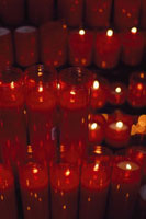 Candles litl for Dec 16 Saints Day