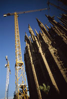 Construction at Sagrada Familia