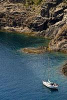 Yacht in Cap de Creus