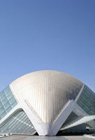 L'Hemisferic Building,City of Arts and Sciences