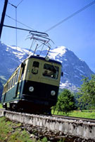 Trolly on Jungfrau