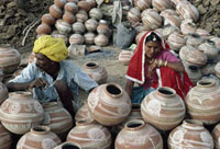 Ceramic pot sellers