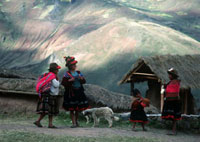 Campesinos in the Andes