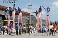 Carnival scene 20023004064| 写真素材・ストックフォト・画像・イラスト素材|アマナイメージズ