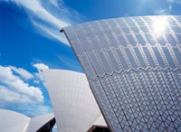 Detail of the roof of the Sydney Opera House