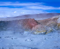 Volcanic mud