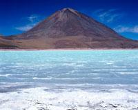 Laguna Verde,Licancabur Volcano