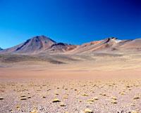 Empty desert landscape