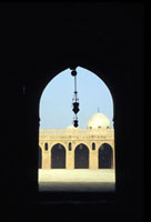 Archway and Courtyard of Ibn Tulun Mosque