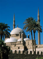 Mohammed Ali Mosque in Citadel of Cairo