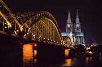 North Rhine,Westphalia,Dom and Hohenzollem brucke