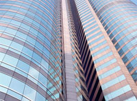 Office buildings,Low Angle View