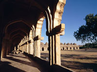 Archways of the Elephant Stables,Hampi