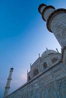 The Taj Mahal at dusk,Low Angle View