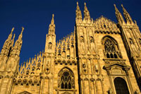 Duomo in Milan,Low Angle View