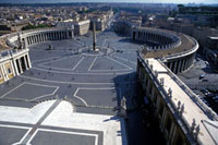 St Peters Square,High Angle View